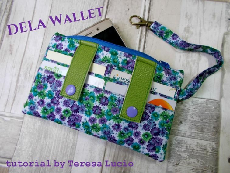 Dela Wallet Craftsy With Template A All Free Sewing Board All