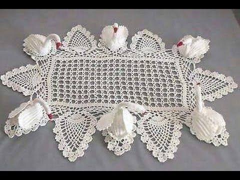 CISNE DE COLORES PARTE 2 TEJIDO - YouTube   crochet   Pinterest