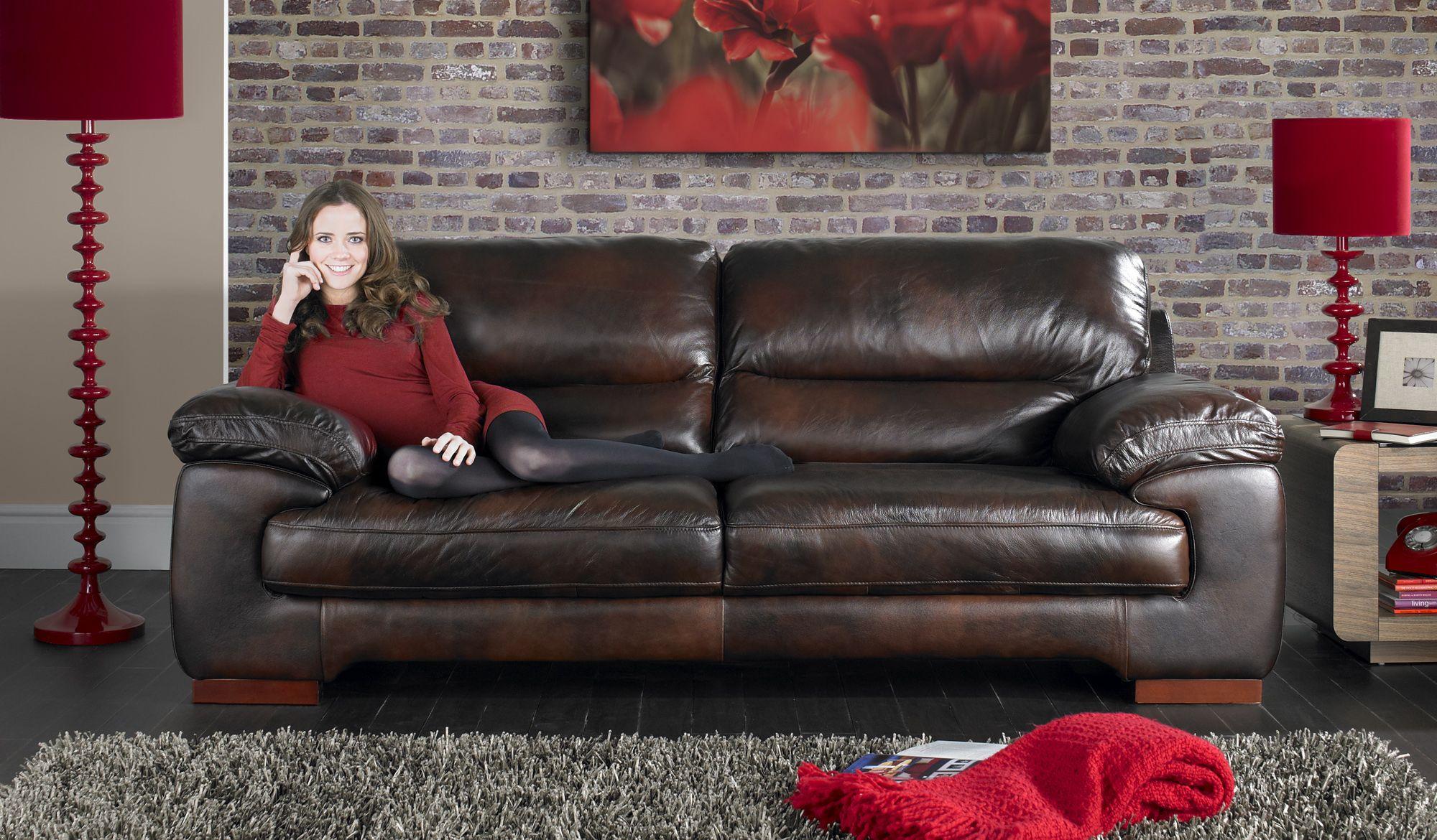 The Karma From Sofaworks Leather Sofa Sofa Fabric Sofa