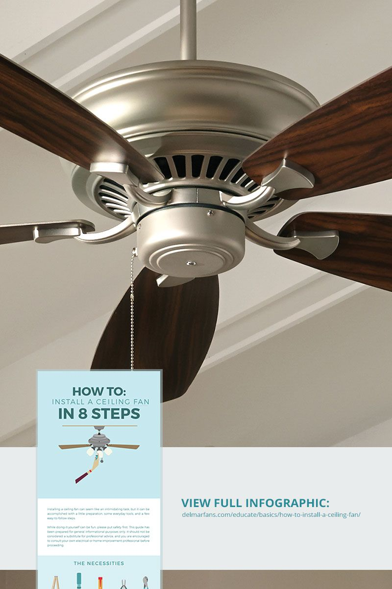 Do It Yourself Ceiling Fan Installation With Images