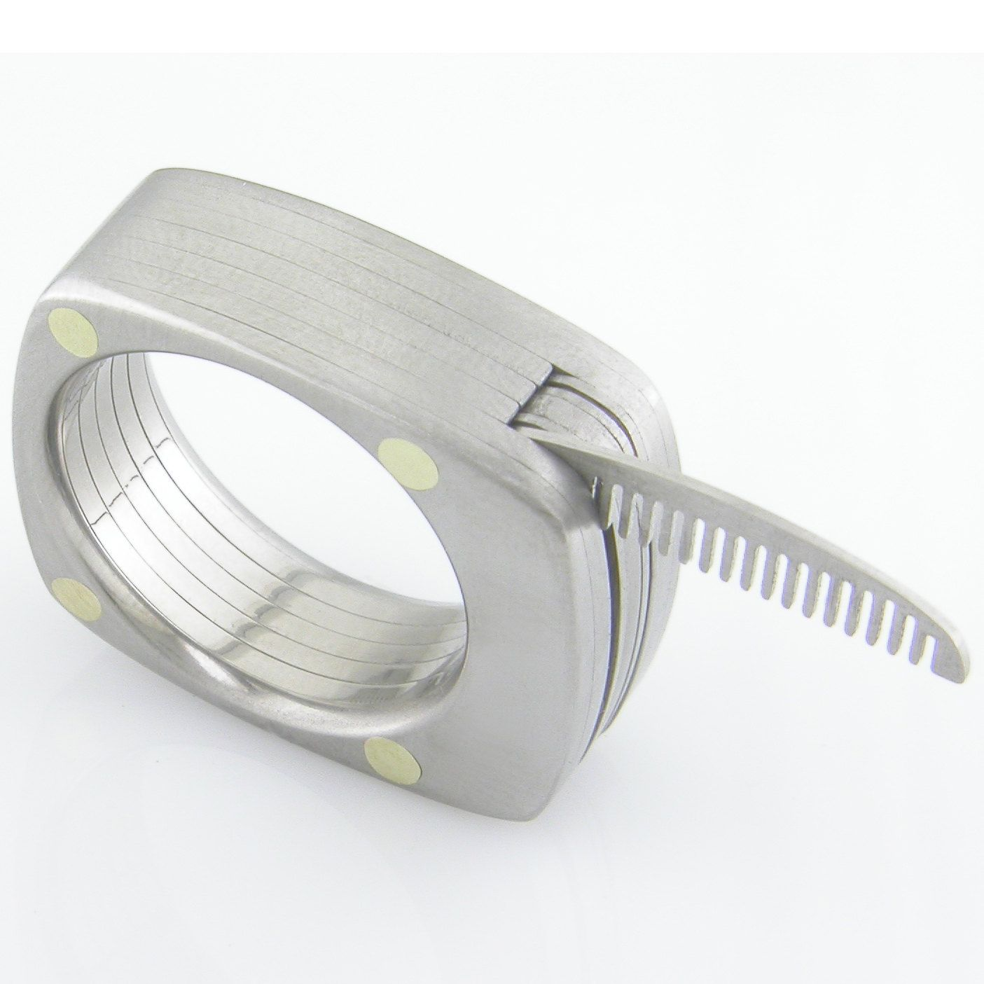 d43eed58915 The Man Titanium Ring by Bruce Boone