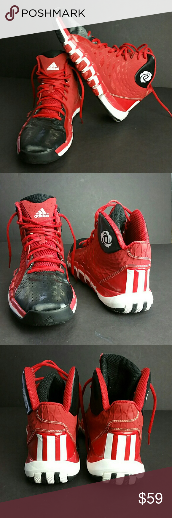official photos cb1e7 c75f2 ADIDAS D ROSS 773 II MENS SHOES VERY CLEAN INSIDE-OUT SKE  FBPO ADIDAS  Shoes Athletic Shoes