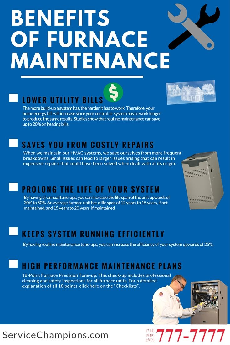 Benefits of Furnace Maintenance Plans Quality Air Every