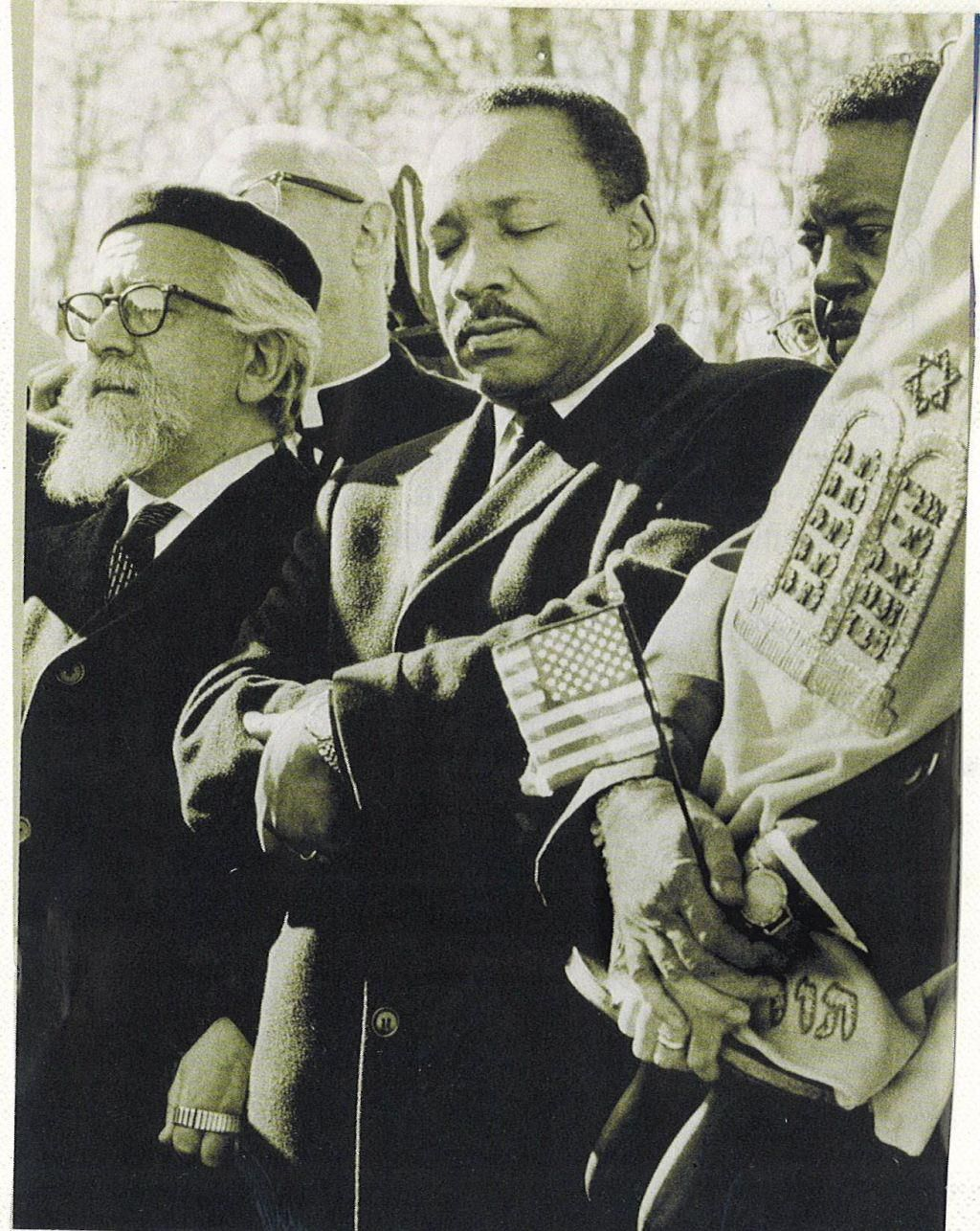 martin luther king & abraham joshua heschel