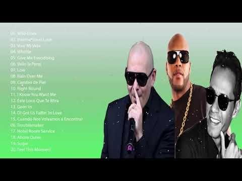 Pitbull, Flo Rida, Marc Anthony Greatest Hits Best Songs