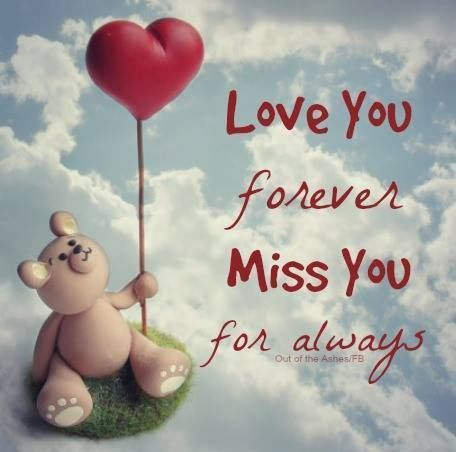 Love You Forever, Miss You For Always Pictures, Photos, and Images for Facebook, Tumblr, Pinterest, and Twitter
