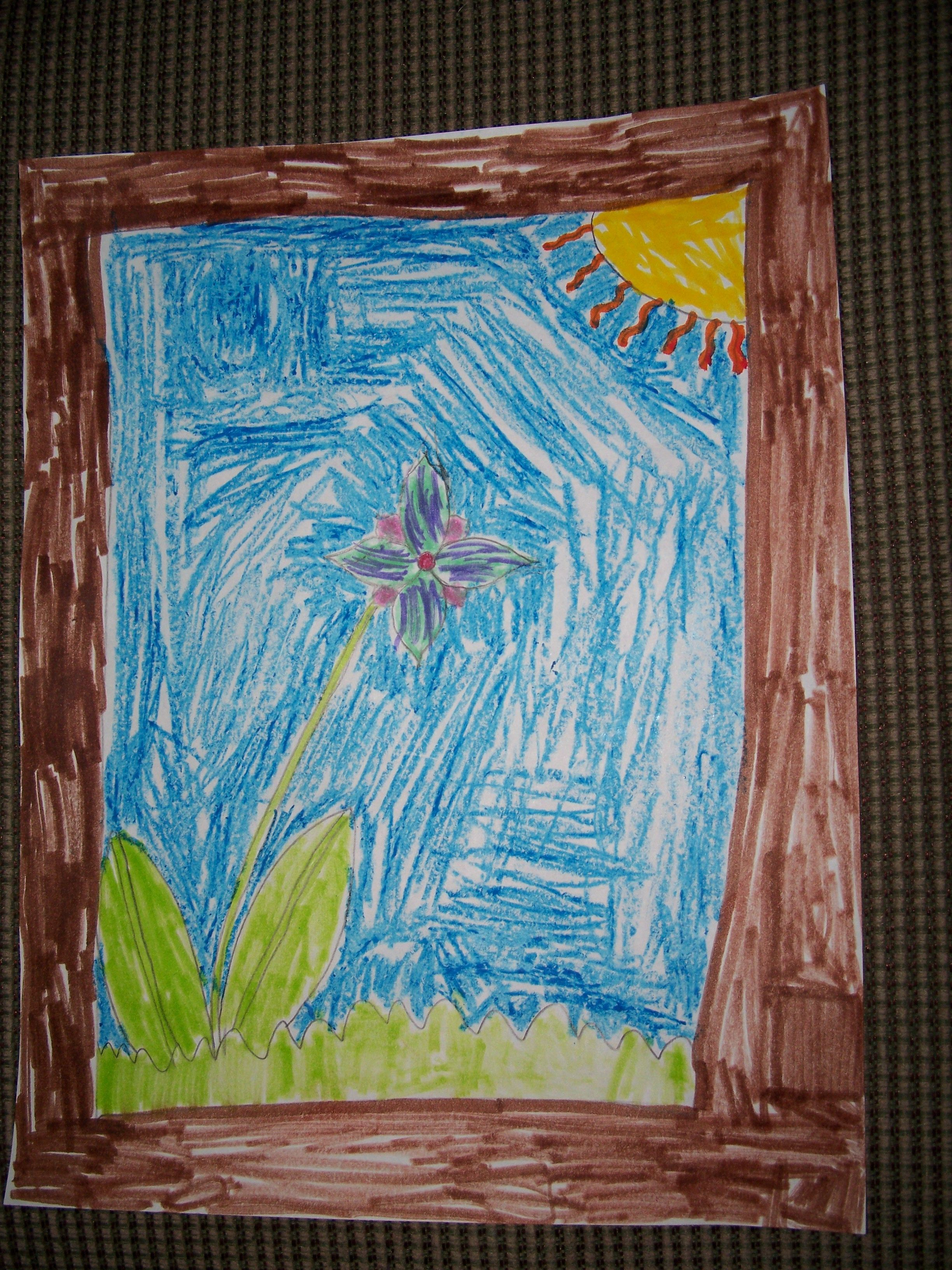 My Daughter S Drawing Love2practicemath