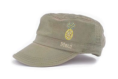 Ladies Fidel Cap Cameron - Pineapple Maui Olive Multi by Dolly Mama. Buy it 317fdeb6db1