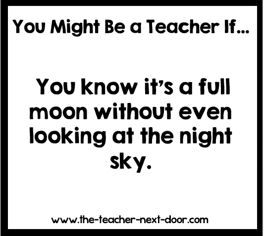 Yep, this actually happens... Find more teacher humor and