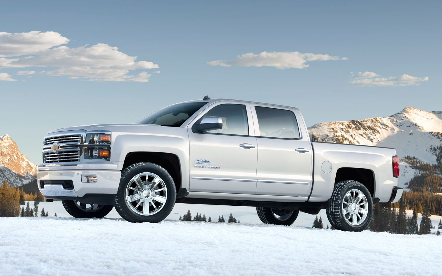 2014 Chevrolet Silverado High Country First Look Cars