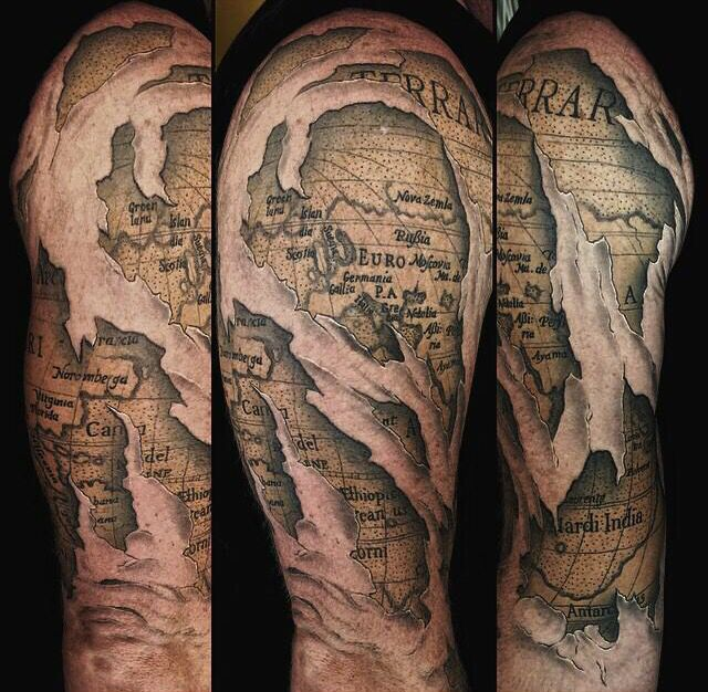 Pin by taylor hovis on sleeve ideas pinterest tattoo tattoo world map gumiabroncs Images