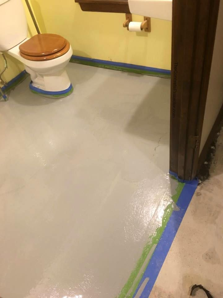 Concrete Overlay Random: Crazy Decorative Concrete Overlay Flooring Lake Ozark MO