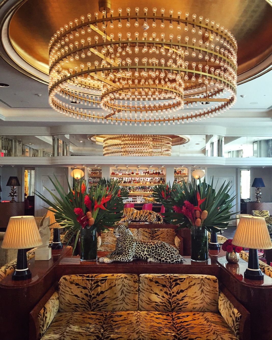 animal print at faena miami beach hotel