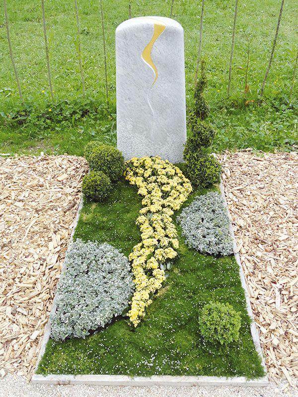 Genossenschaft Württembergischer Friedhofsgärtner Eg, Stuttgart ... Grabgestaltung Ideen Blumen Pflanzen Deko