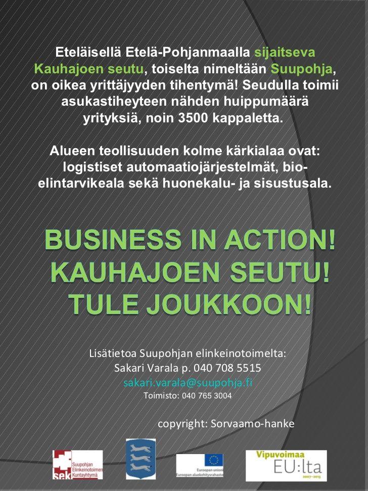 yrittajaksi-kauhajoen-seudulle-business-in-action-2012 by Jaana Suksi via Slideshare