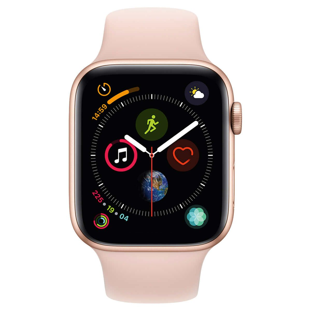 Apple Watch Series 4 Gps With Pink Sand Sport Band 44mm Gold