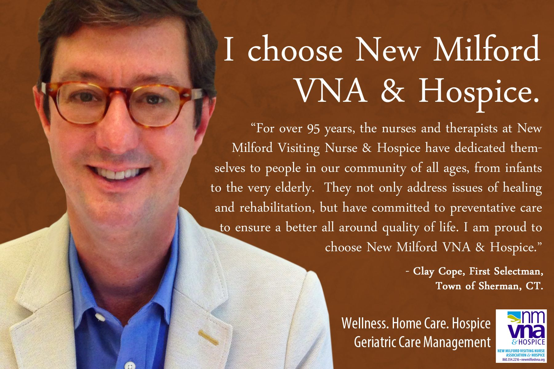 Pin on We choose New Milford VNA & Hospice and so can you!