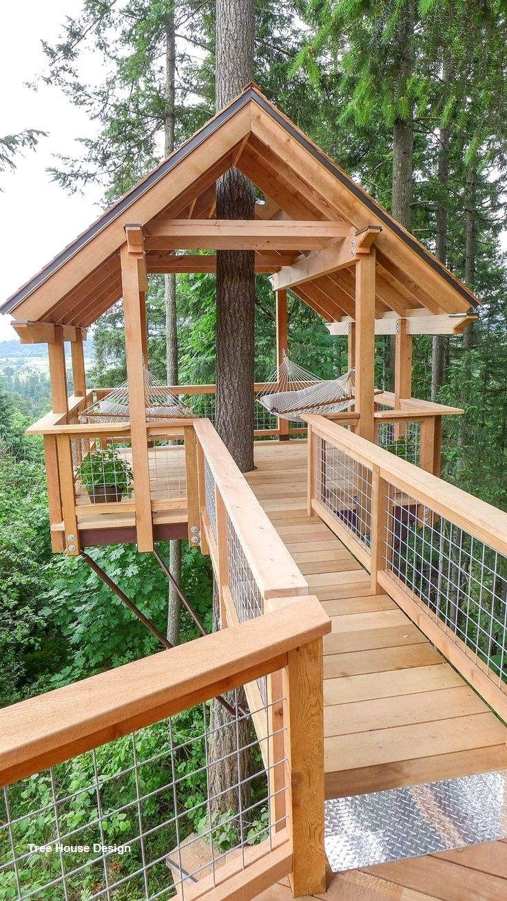 Best tree house designs in 2020 tree house plans tree