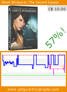 Ghost Whisperer: The Second Season (DVD). Drop 57%! Current price C$ 10.00, the previous price was C$ 22.99. http://www.adquisitiocanada.com/cbs/ghost-whisperer-season-2