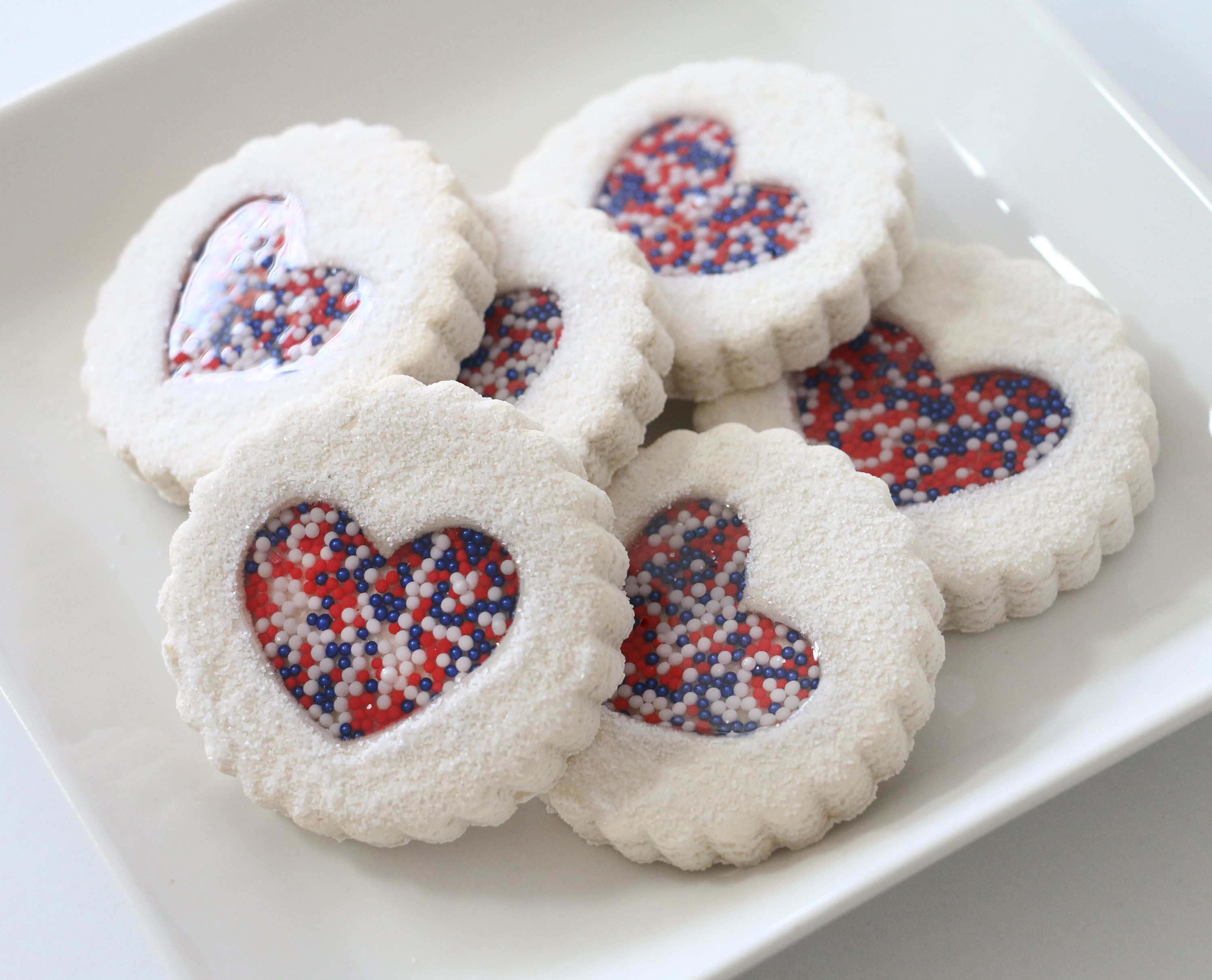 Fake Cookies | Celebrate Memorial Day, Independence Day and Veterans Day! | 4th of July Decor American Flag Decor