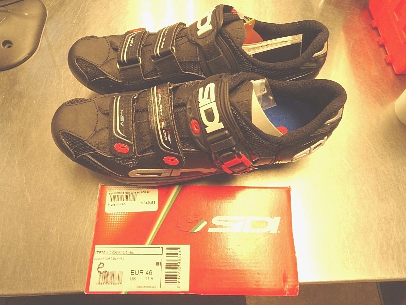 039b60e71eb Cycling Shoes and Shoe Covers 177862  Sidi Dominator 7 Mega Men S Cycling  Shoes 46 Eu 11.5 Us Black Made In Italy -  BUY IT NOW ONLY   124.99 on   eBay ...