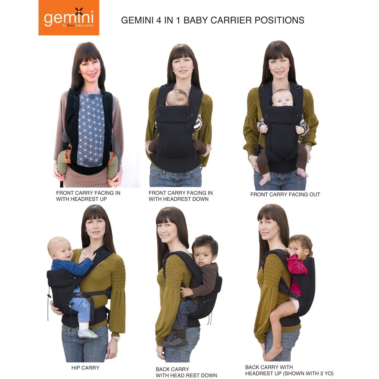beco gemini carrier review