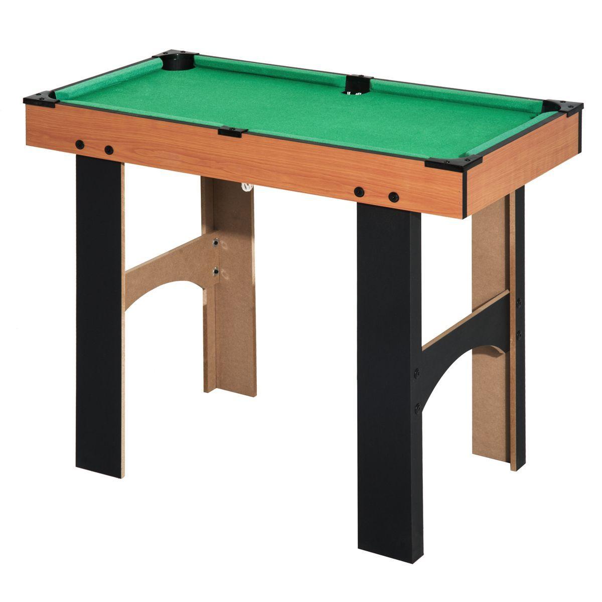 Table Multi Jeux 4 En 1 Avec Accessoires Taille Taille Unique