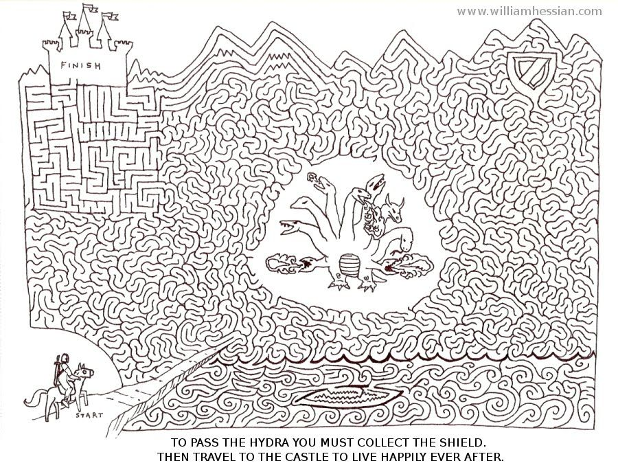 Complicated Coloring Pages For Adults Bearded Bunny Blog