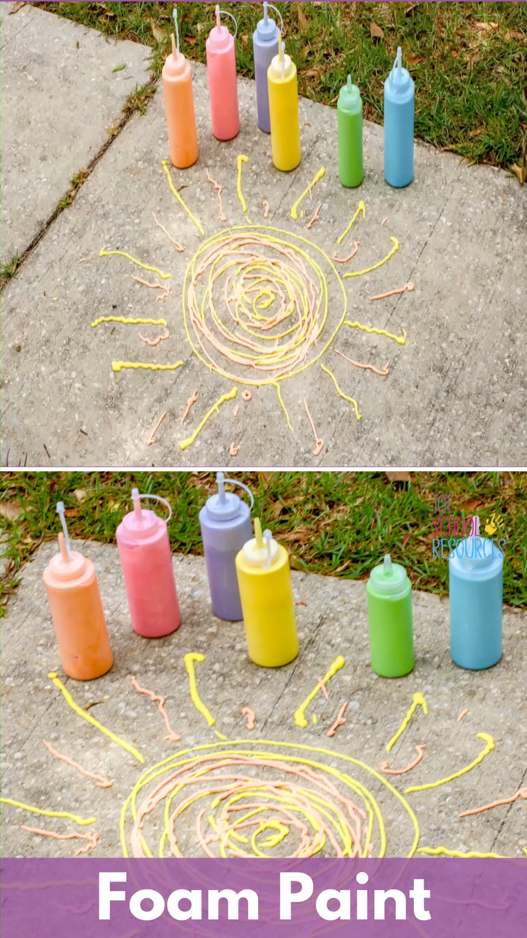 DIY Sidewalk Foam -   19 diy projects For Boys food coloring ideas