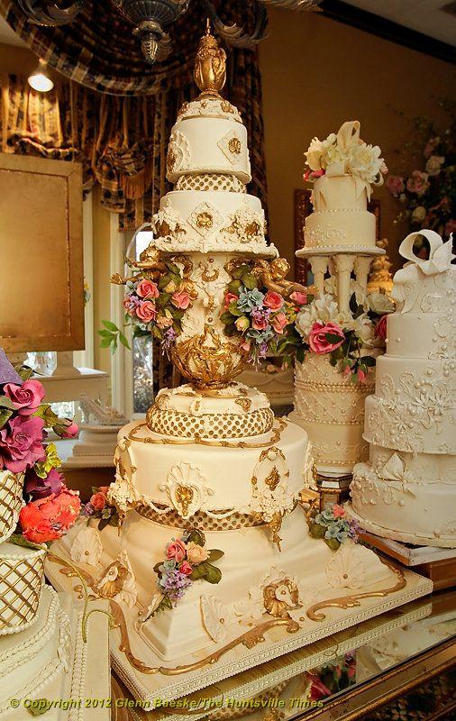 Couture Cakes\' Bob Johnson\'s Amazing Wedding Cakes 07.23.12   Cakes ...