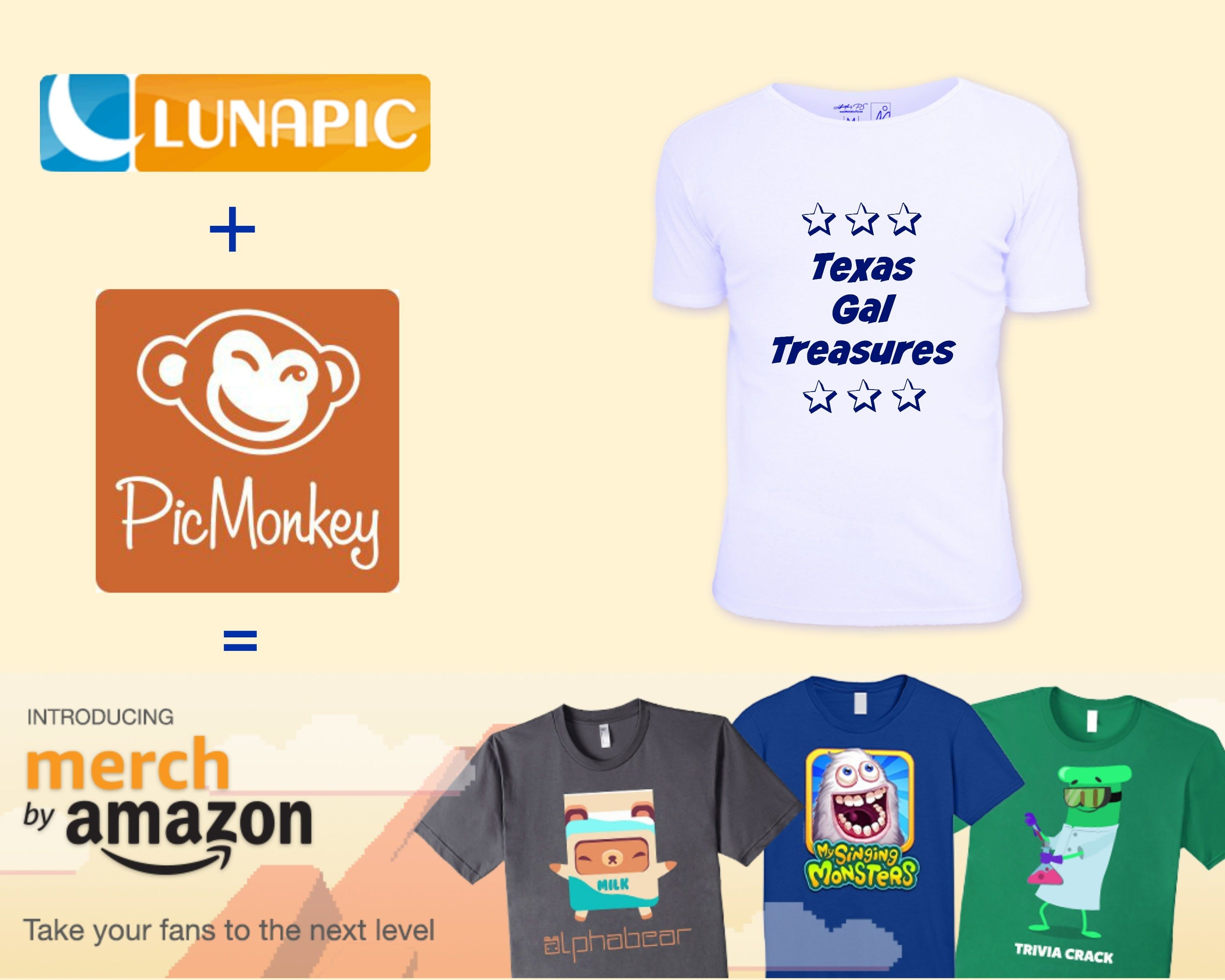 How To Create a Shirt for Merch by Amazon Using PicMonkey ...
