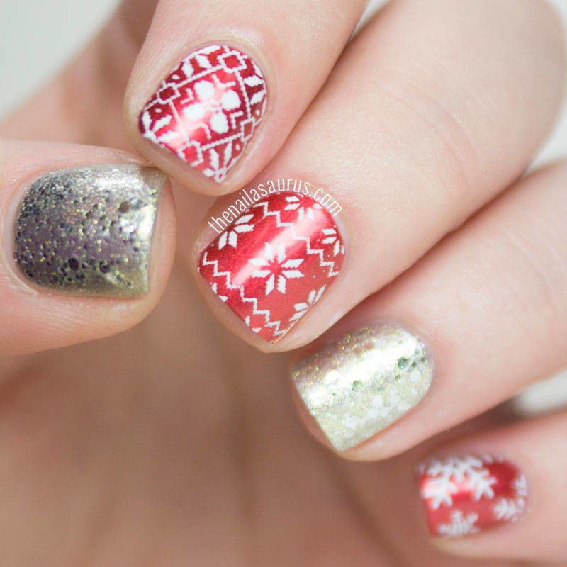 7 Easy Christmas Nail Art Ideas | Picture polish, Rimmel and Easy ...