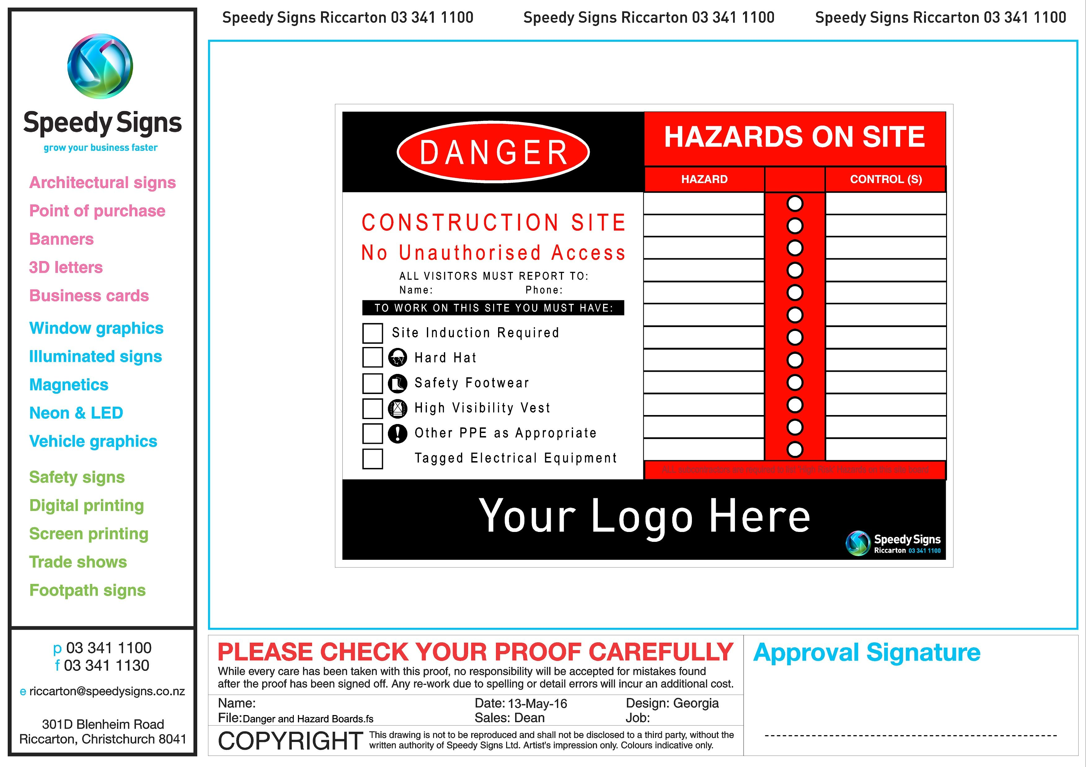 Pin by Speedy Signs.... Christchurch on Safety Signs