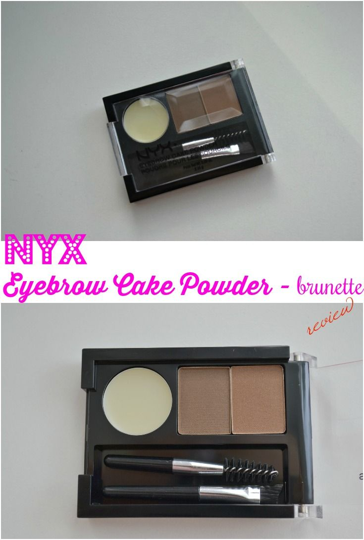 Nyx Eyebrow Cake Powder Brunette Beauty Product Reviews
