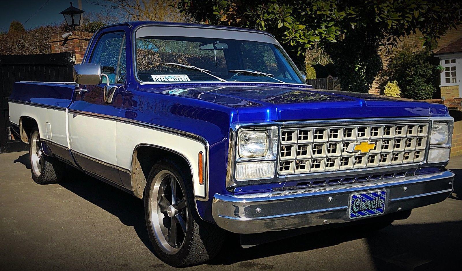 Ebay American Chevrolet Chevy C10 Silverado Spec Pickup Truck Uk