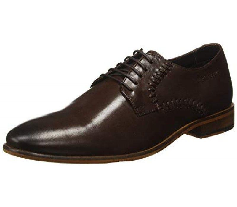 Hush Puppies Men S Reizan Brown Formal Shoes Bata Men S Jonathan