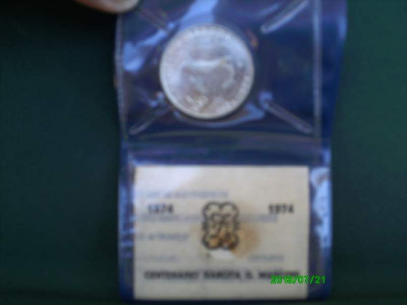 Moneta 500 Lire D Argento 1974 G Marconi Collezionismo Monet E
