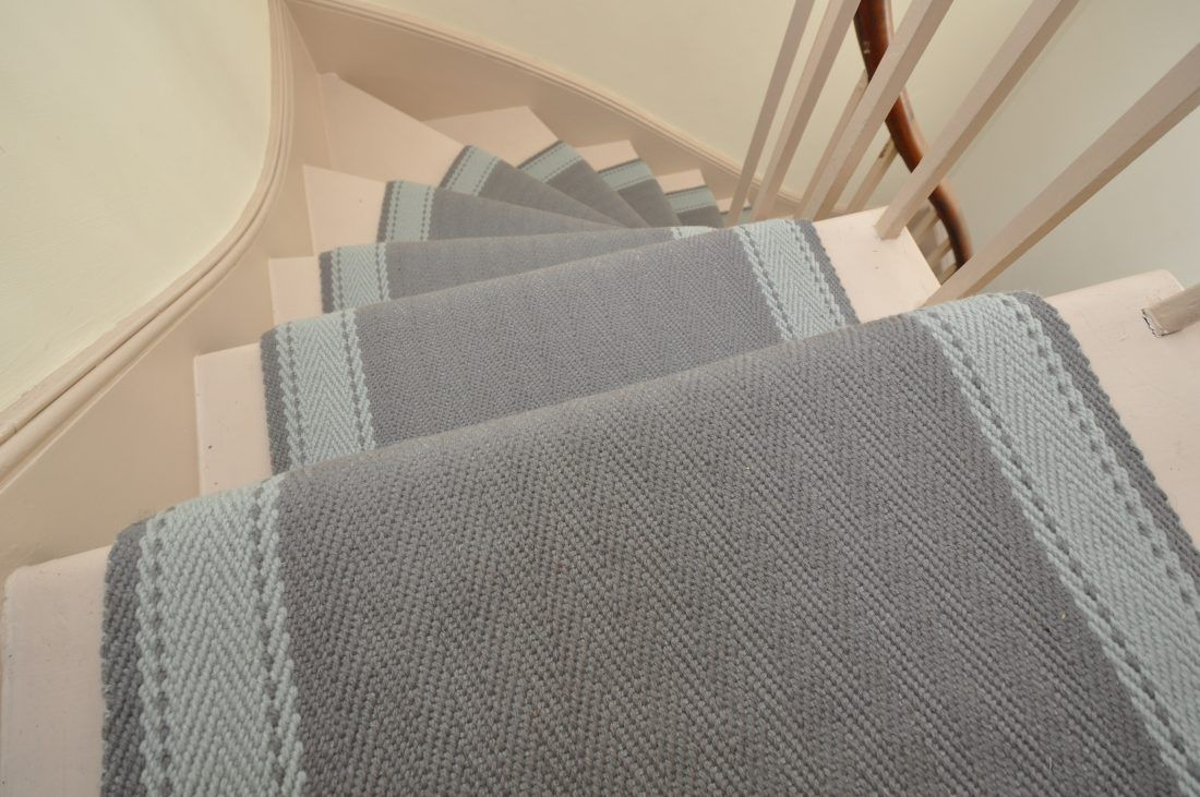 Best Elsdon 2 Narrow Off The Loom Stair Runner 400 x 300
