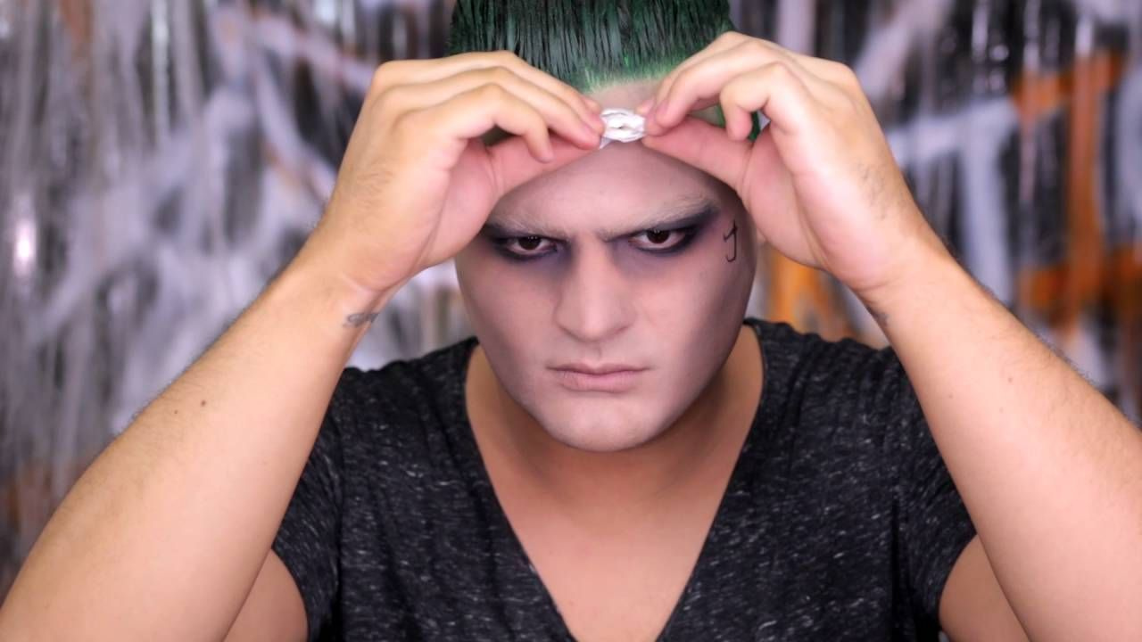 This Suicide Squad Joker makeup tutorial is no joke! See how to create the Joker look from this summer's hottest movie here!