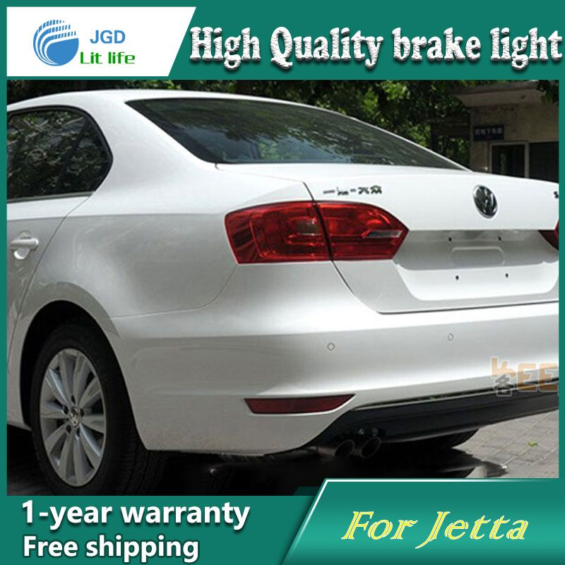 Free Shipping Car Styling Rear Per Led Brake Lights Warning For Vw Jetta 2017 Accessories Good Quality