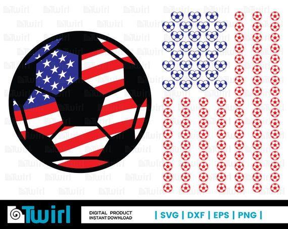 Download Soccer svg   Flag svg   Usa Flag silhouette   Love clipart ...
