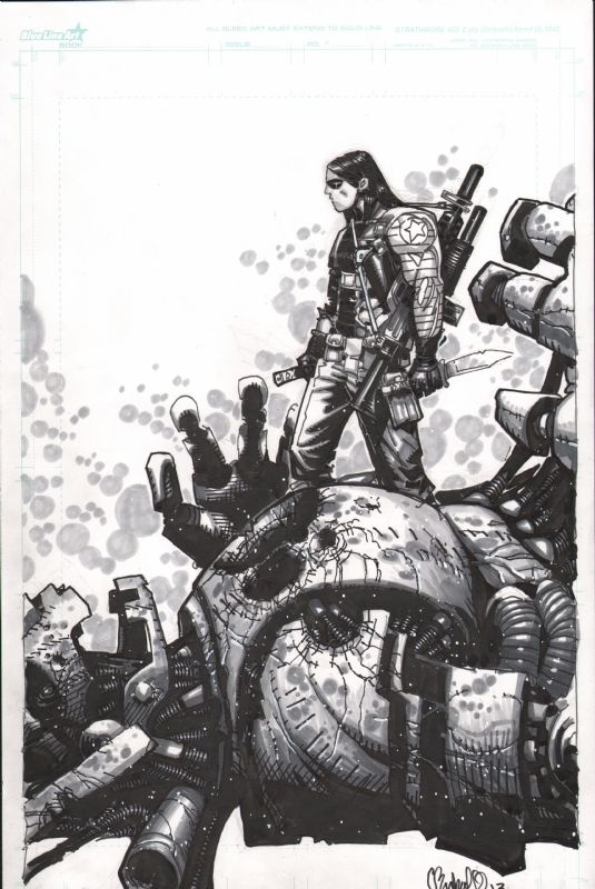 Winter Solider by Chris Bachalo