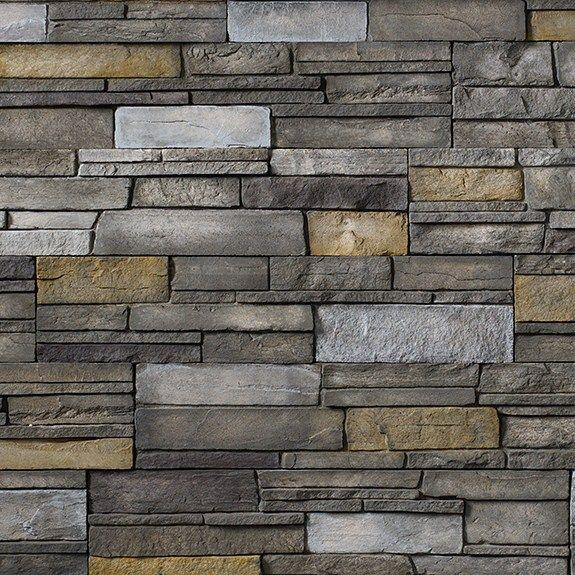 Exterior And Fireplace Stone Versetta Stone Ledgestone In Color Sterling Versetta Stone