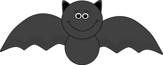 11+ Halloween clipart black and white bat information