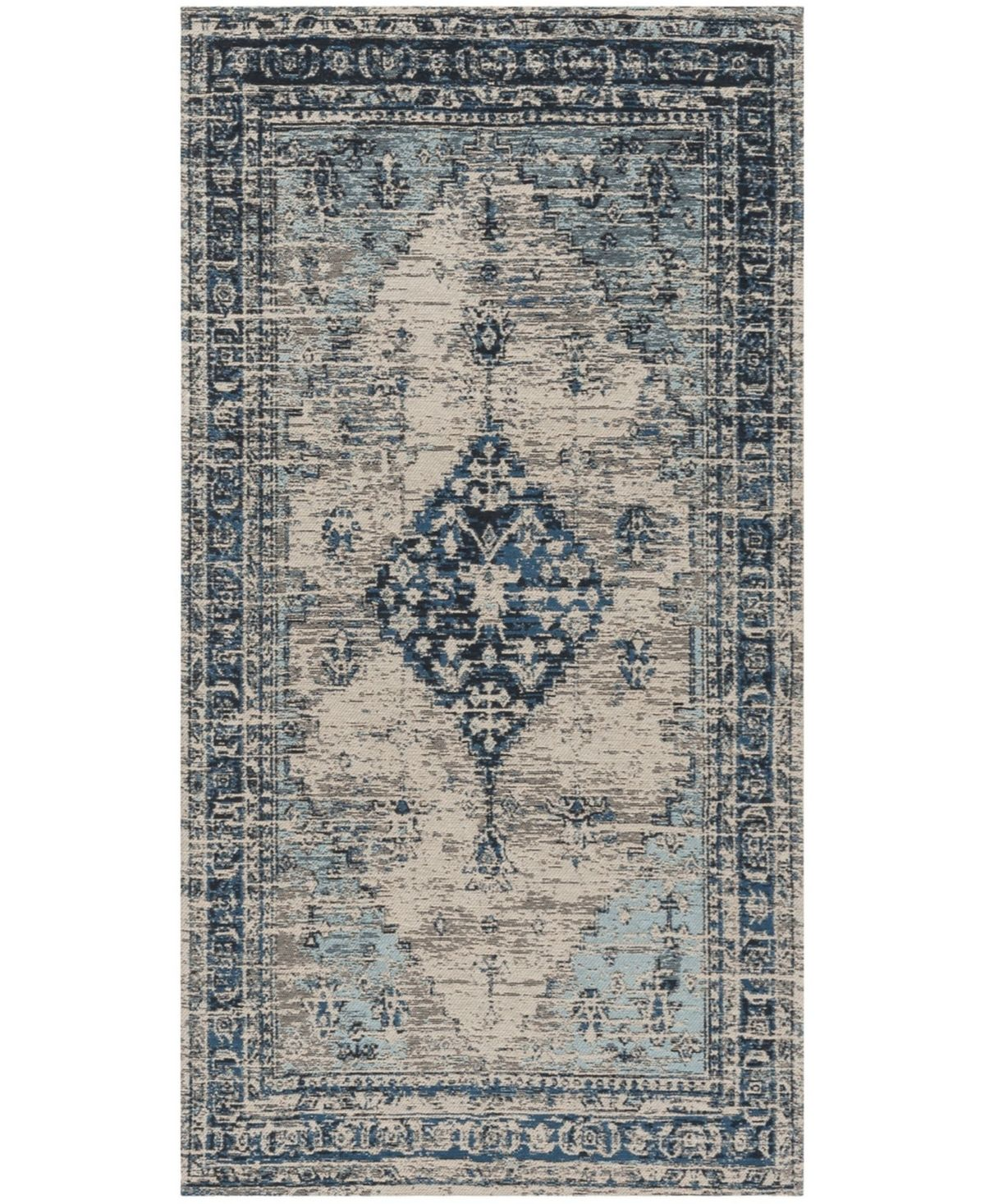 Safavieh Classic Vintage Blue 8 X 10 Area Rug Reviews Rugs