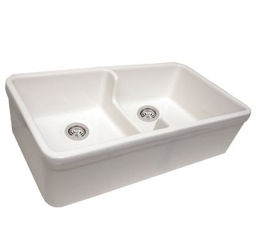 whitehaus fireclay double farmhouse sink with low center on farmhouse sink lowest price id=39683