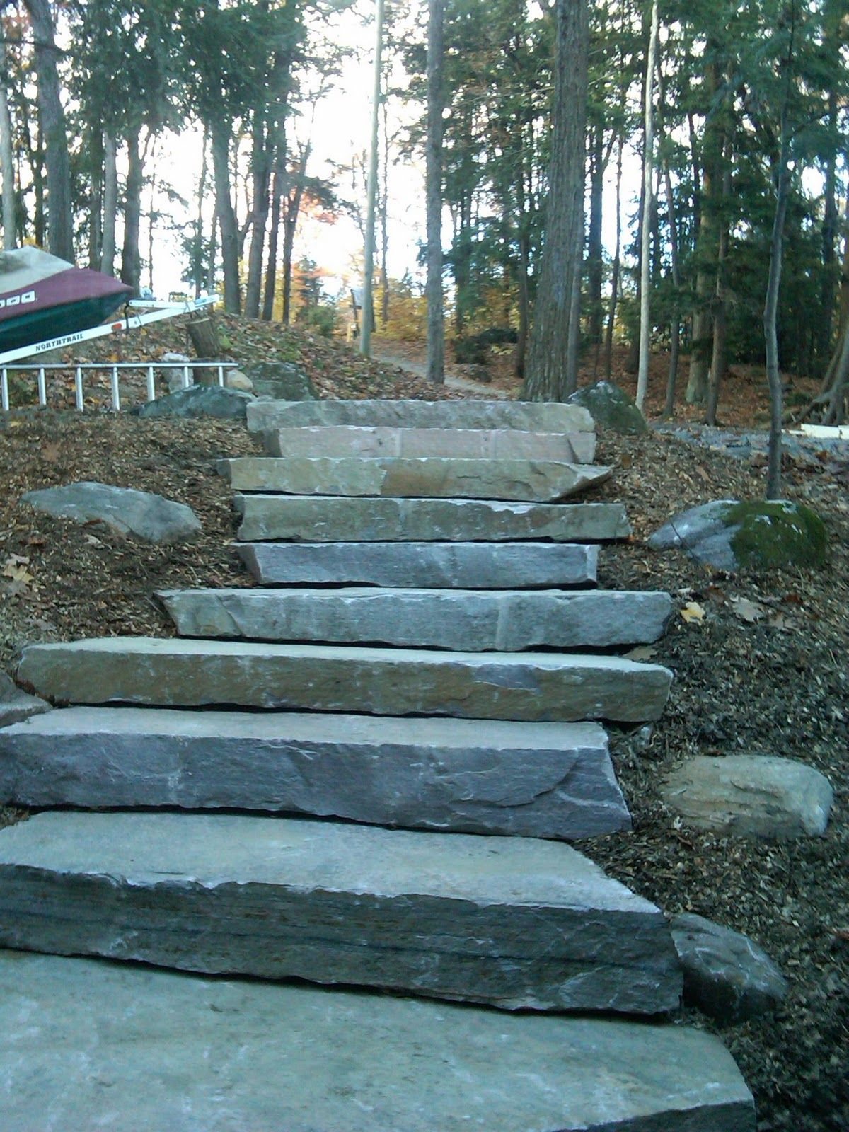 Joe DaCosta Contractor in Muskoka.blogger.com: Lake Muskoka - Granite Steps to Cottage on Muskoka