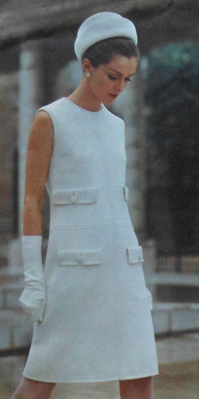 Vintage us vogue couturier design pertegaz dress sewing pattern
