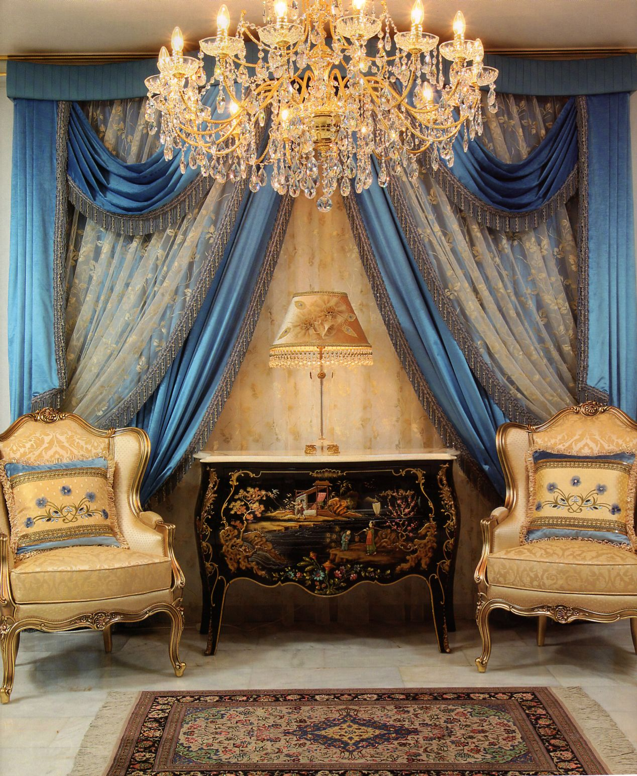 Decorating theme bedrooms maries manor window treatments curtains - Room Cinderella Bedroom Curtains