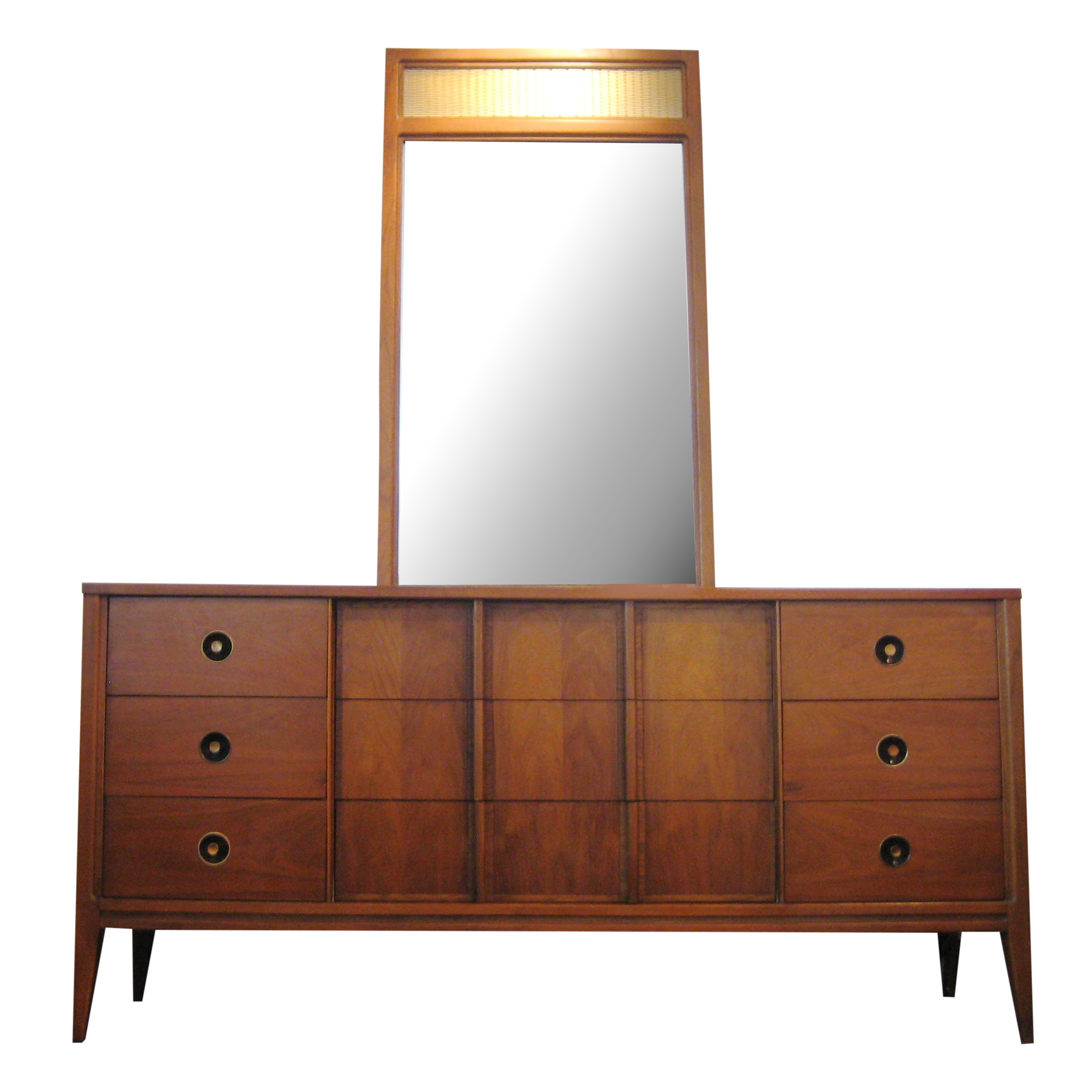 Best Mid Century Dresser With Mirror By Basic Witz On Chairish 400 x 300